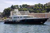 Luxurious yachts in port of Monte Carlo — Foto de Stock