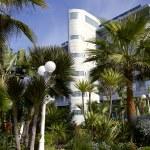 Постер, плакат: Modern hotel with a wonderful garden in Casablanca