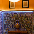 Tradition arabic lobby interior — Stock Photo