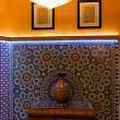 Tradition arabic lobby interior — Stock Photo