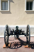 Old cannon at the Palace of Monaco — Stock Photo