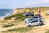 Arsuf coast near Mediterranean — Foto Stock