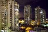 A night panorama is Bat-Yam — Stock Photo