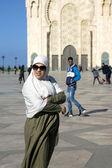 A Mesquita de hassan ii em casablanca — Fotografia Stock