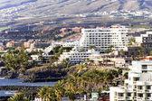 Moderne hotels op playa de las americas — Stockfoto