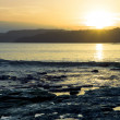 Sunset above the Pacific ocean in Costa Rica — Stock Photo #48032515