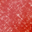 Winter abstract background, christmas stars with snowflakes — Stock Photo #15738113