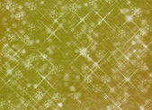 Winter abstract background, christmas stars with snowflakes — Stock Photo