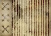 Cubierta de grunge para álbum sobre el fondo rayados abstracto — Foto de Stock