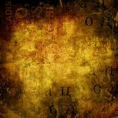 Grunge abstracte achtergrond met oude affiches gescheurd — Stockfoto