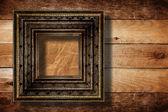 与前遗骸的豪华与旧房间的内部 — 图库照片