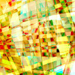 Abstract old chaotic pattern with colorful translucent curved li — Stock Photo #22189211