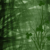 Design for St. Patrick's Day. Flower ornament. — Stock Photo