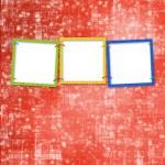 Three frames for photos — Stock Photo #2309720