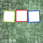 Three frames for photos — Stock Photo #2311798