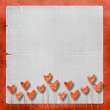 Card for congratulation with heart — Stock Photo #2318791