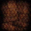 Grunge brown background with ancient ornament. Vintage textile — Stock Photo #25980069