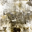Grunge abstract newspaper background for design with old torn po — Stock Photo #32067511