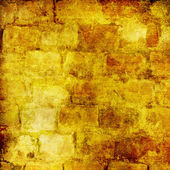 Na tle starych murów ślady dawnego migh — Zdjęcie stockowe