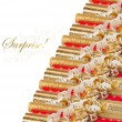 Rolls of colored wrapping paper — Stock Photo #32868139