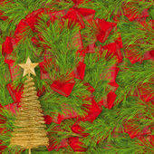 Christmas greeting card — Zdjęcie stockowe