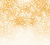 Abstract background with snowflakes, stars and blur boke — Stockfoto
