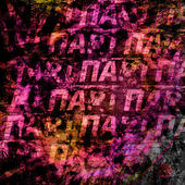 Grunge abstract background with handwrite text for design — Stock Photo