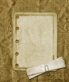 Ročník pozdrav card oznámení na pozadí abstraktní — Stock fotografie