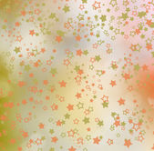 Colorful background with stars and bokeh effect for design — Stock Photo
