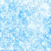 Abstract snowy background with snowflakes, stars and fun confett — Stock Photo