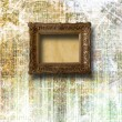 Stock Photo: Frame in style baroque