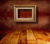 Interno della vecchia sala con i resti di ex di lusso — Foto Stock