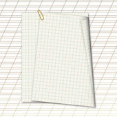 Sheets school notebook paper on the abstract background — Stock Photo