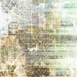Grunge abstrakte Zeitung Hintergrund für Design mit alten zerrissenen po — Stockfoto