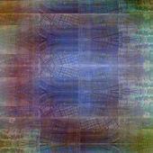 Soyut kaotik desen renkli saydam kavisli hatları ile — Stok fotoğraf