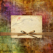 Grunge abstract newspaper background — Stock Photo