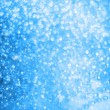 Blue Christmas background with bokeh effect — Stock Photo #45328739