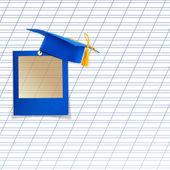 Mortar board or graduation cap — Stock Photo