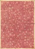 παλιά καρτ-ποστάλ για συγχαρητήρια ή πρόσκληση με ορχιδέες ornam — Φωτογραφία Αρχείου