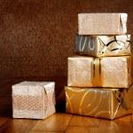 Gift boxes — Stock Photo #47199533