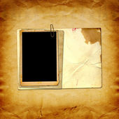 Vintage paper with  frames — Stock Photo
