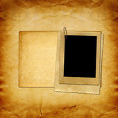 Vintage paper frames — Stock Photo