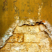 The background of the old masonry with traces of the former migh — Photo