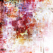 Grunge abstract background with old torn posters  — Foto de Stock