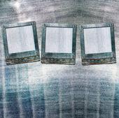 винтажные открытки с горками на фоне старых джинс — Стоковое фото
