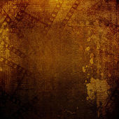 Old papers and grunge filmstrip on the alienated background  — Stock Photo