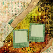 Abstract beautiful background in the style of mixed media with a — Stock Photo