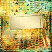 абстрактный красивый фон в стиле смешанных сми с f — Стоковое фото