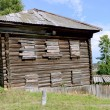 Ancient russian wood house — Stock Photo
