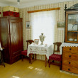 Russian old house interior — Stock Photo